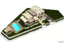 Porto heli residential development VARC studio 3D renderings / fb.me/varcstudios