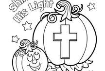 christian holloween crafts