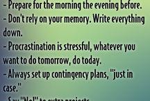 Stressing / Gode råd mod stress