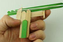 rubber bands guns