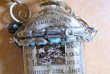 Bottle Pendant Jewellery