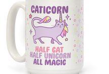 Caticorn / Half cat, half unicorn