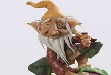 Fairies/gnomes/trolls and others / Polymer clay