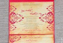 Wedding Invitations by Written in Ink (Wink) / Modern yet tasteful wedding invitations by Written in ink WINK www.wink.com.ph