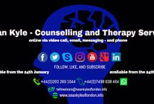 Sean Kyle - Counselling and Therapy Service / Aspects of the counselling and therapy I provide.