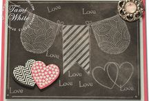 Stampin Up - Chalkboard Technique / by Becca Matlock