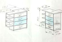 Tamplarie PAL / Schite, Planuri mobilier Pal