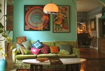 cool interiors / by Danell Beede