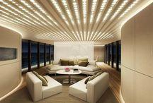 living room led lighting design idea!!