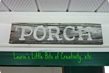 sign ideas / by Laura Wooters