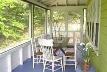 .Screen Porch. / by The Tall Chick