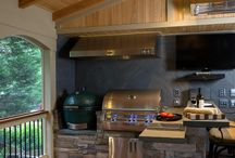 Outdoor kitchens and cooking / Outdoor kitchens and cooking ideas
