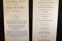 Wedding Programs / Wedding Programs for your special day. Different styles to choose from as well as colors, fonts, and designs. Choose from Flip style, Fan style, and Standard booklet.
