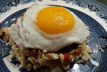 Pasta & Rice / Bol Renverse -Chino Mauritian dish