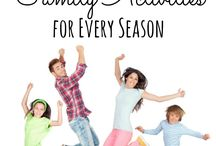 Family Physical Activity Ideas / Fun ways for families to be more active together