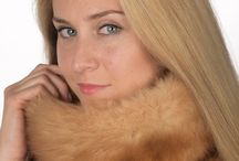Real sable fur neck warmer / Stylish sable fur neck warmer. Real fur accessories, made in Italy.  www.amifur.co.uk