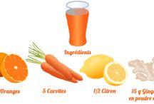 DIY - jus de fruits avec extracteur