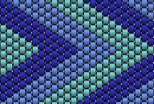 Peyote stitch beading / Tutorial-project-ispiration