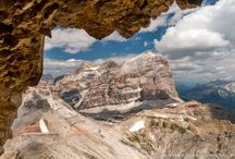 In love with Dolomites Mountains