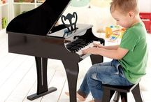 Pianos for Baby to Toddler to Kids / Baby, toddler and little kids' pianos are fabulous--the best--budget-friendly gifts!