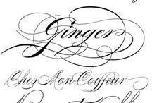 Fonts style / Idea font