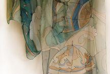 Silk art ideas