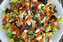 eats: salads / by K. Fransen
