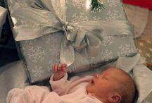 Baby kerst foto's
