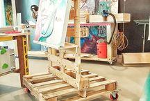 Artist Studio Ideas / Artist studio -Do It Yourself Ideas