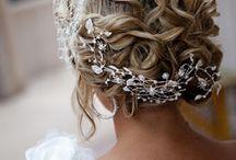 Hair, veil, headpieces