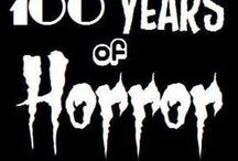 Horror Books,Films and Television!