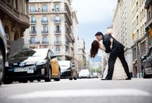 Weddings - Bodas / Fotos de reportajes de bodas.  Spanish wedding pictures.