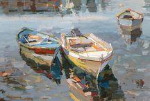 Inspiring Paintings - a la Impressionism