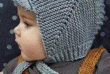 czapki dla dzieci druty