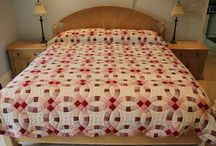 Bed-Sized Quilts / These quilts are made especially for a variety of bed sizes. They give a bedroom a warm and welcoming look as well as keeping you warm at night.
