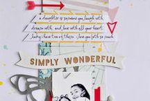 Scraps and things  / by Rachel Stewart