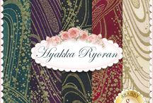 "Quilt Gate - Hyakka Ryoran / ""Hyakka Ryoran"" by Quilt-Gate Fabrics"