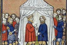 Late Medieval Facial Hair / Survey of beards as worn between 1380-1420.