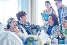 結婚式 パーティイメージ笑