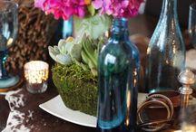 ボヘミアン//bohemian / rich colors, weatherd wood, wild flowers, metals & horns