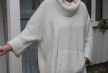 свитер для полных