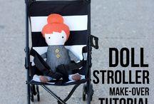 Baby stroller make over