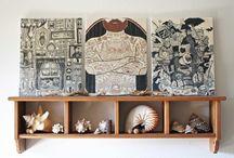 WALL ART&FRAME /DECORACIÓN PARA PAREDES Y MARCOS DIY IDEAS&DECORATION