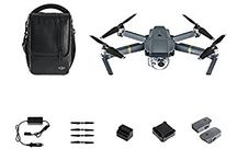 DJI Mavic Pro / DJI Mavic Pro, one of the most technologically advanced quadcopter / drones available. Recently released, as of December 2 2016 there is a back order on the Mavic Pro... so if you want one you better get in line! Why is this such a ground breaking product? The Mavic Pro collapses to travel size making it easy to take anywhere you go. But it also packs a performance knockout punch; 4k video, autonomous flight controls and a wide range of advanced modes. Oh... and 3+ miles of range! BOOM!