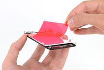 Sustitución de la pantalla del iPhone 4 / Para sustituir la pantalla de iPhone 4, siga los pasos siguientes.