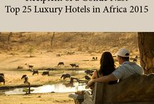 The Stanley & Livingstone Safari Lodge / The Stanley & Livingstone is a luxury safari lodge situated on a private game reserve, mere minutes from the Victoria Falls, Zimbabwe. The 6000‐acre Victoria Falls Game Reserve borders the Zambezi National Park, offering guests a diverse and unique African experience. Home to the Big 5, activities include morning and evening game drives.