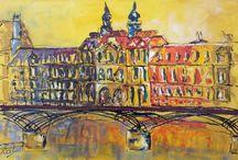 Building, paintings / Paintings of buildings, castle's and palaces of ART & LEF by Paul La Poutré
