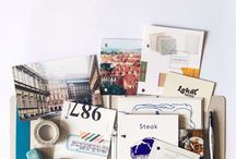 Travel binder or journal
