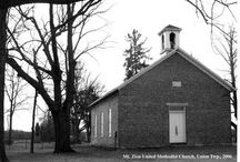 Delaware County Methodist Church Photographs / The Delaware County Methodist Church Photographs digital collection includes 53 digital photographs of Methodist churches in Delaware County, Indiana taken in 2006 by Richard Stowe.  To learn more about this collection visit the Delaware County Methodist Church Photographs in the Ball State University Digital Media Repository.