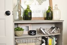 STYLING and VIGNETTES / A collection of gorgeous styling ideas and vignettes